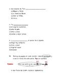 Examen Español: Sujeto y Predicado, Núcleo del S y del P y