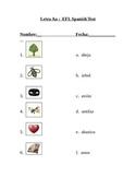 Examen Letra Aa