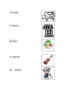 Examen Letra Vv
