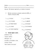 Examen de Ciencias- Sistemas Respiratorio y Circulatorio