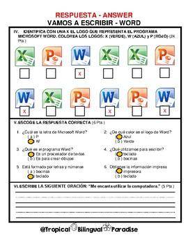 Examen de Word