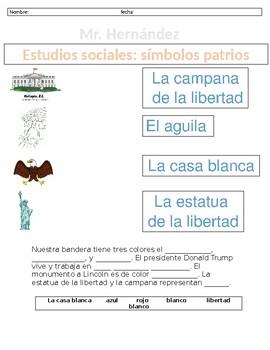Examen de simbolos americanos