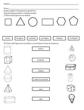 Examen unidad 1.3 Pensamiento geométrico