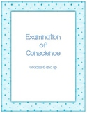 Examination of Conscience