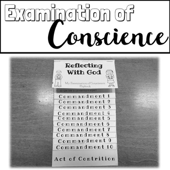 Examination of Conscience FLIPBOOK