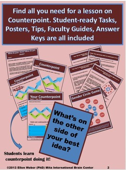 Examine Author Purpose through Counterpoint - CCSS Aligned