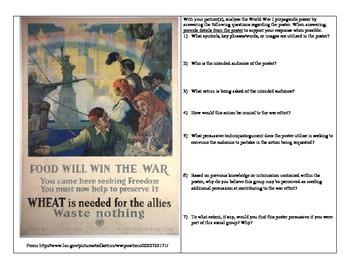 Evaluating American World War I Propaganda
