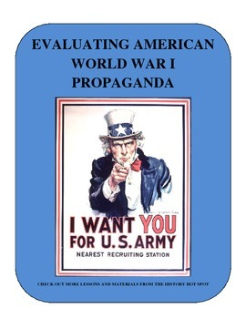 Evaluating American World War I Propaganda
