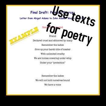 History & Poetry BUNDLE Grades 6-12