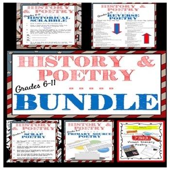 Examining History Through Poetry BUNDLE