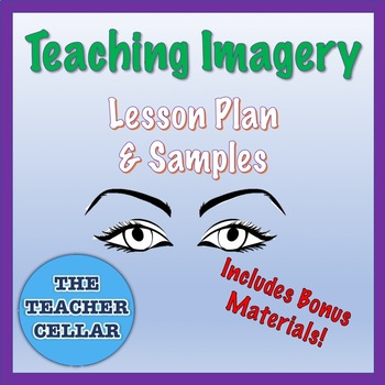 Teaching Imagery Lesson Plan and Samples + Bonus Materials