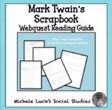 Examining Mark Twain's Scrapbook Guiding Internet Activity