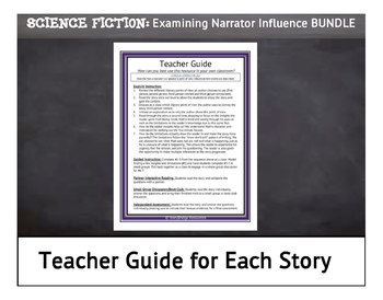 Examining Narrator Influence & Perspective BUNDLE-5 Science Fiction Stories