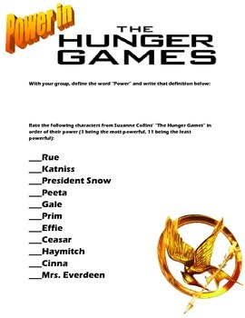 """Examining Power in """"The Hunger Games"""""""