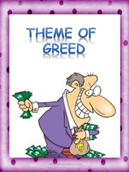 Examining the Theme of Greed in literature across Different Cultures