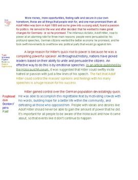 Example Argument Essay
