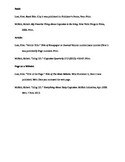 Example Citations in MLA Format - Book, Article, and Page on a Website