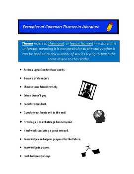 Examples of Common Themes in Literature