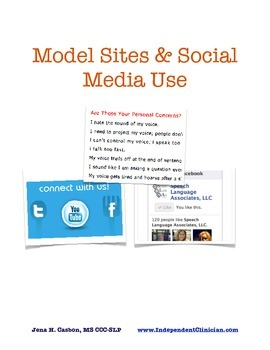 Examples of Fantastic Private Practice Websites and Model Social Media Use
