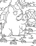 Examples of Funny Animal Coloring Pages