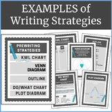 Examples of Writing Strategies: Posters and Notebook Printables