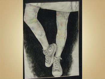 Examples of art by Students from Shirley, Arkansas