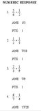 Examview Adding and Subtracting Fractions with unlike deno