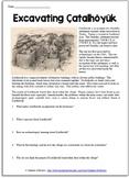 Neolithic Settlement Archaeology Reading Worksheet