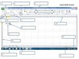 Excel 2010 Computer Terminology Worksheet