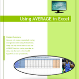 Excel 2010 Tutorial - NBA stats Using the AVERAGE math function