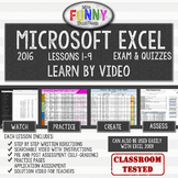 Excel 2016 Video Tutorial Lessons