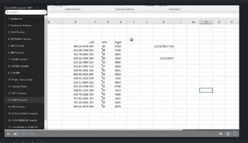 Excel 2016 Video Tutorial Lessons - BUNDLE #1 (Lessons 1-5)