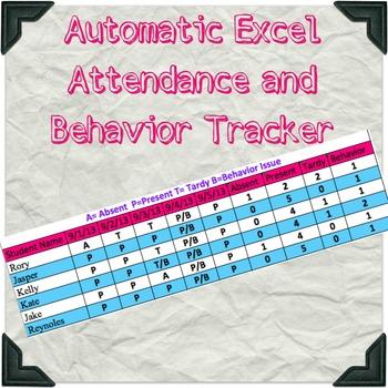 Excel Attendance Chart