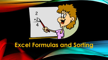 Excel Autosum and Sorting – A PowerPoint Presentation