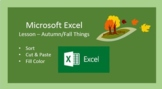 Excel - Autumn-Fall Sorting