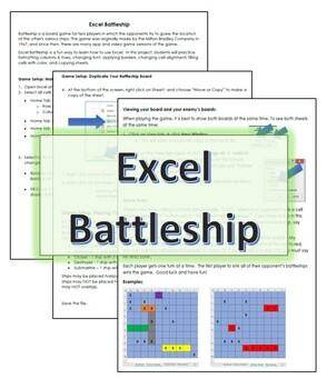 Excel Battleship