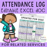 Editable Attendance Log & Caseload Management Forms