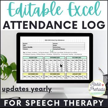 Editable Attendance Log & Caseload Management Forms
