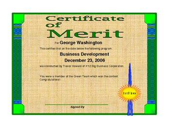 Excel Certificate Maker
