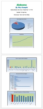 Excel Charts A Technology Lesson Plan & Materials