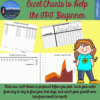 Excel Charts for the TpT Beginner