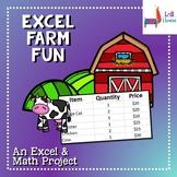 Excel Farm Fun: Excel and Math Skills