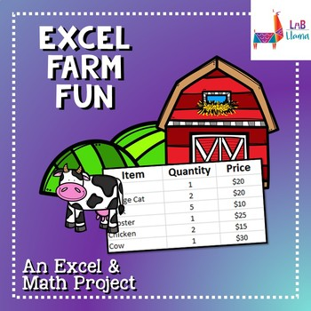 Excel Farm Fun - Excel and Math Skills