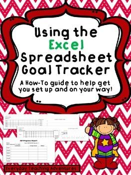 Excel Goal Tracker Explanation