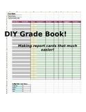 Excel Grade Book Template