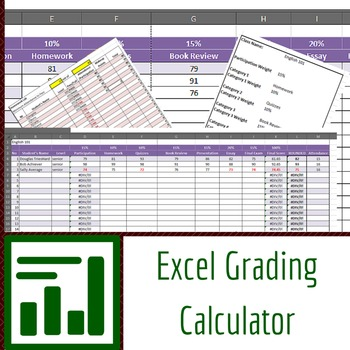 Excel Grading Calculator