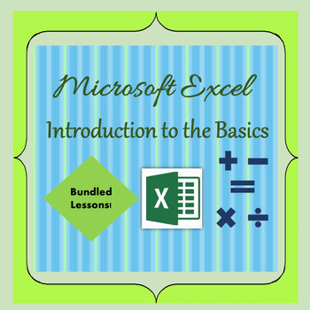 Excel - Introduction to the Basics