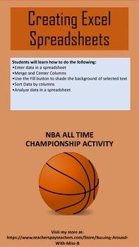 Excel - NBA Champions
