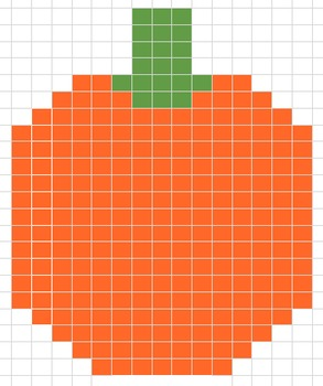 Excel Painting - Fall Pumpkin