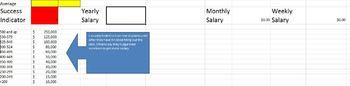 Excel Practice - Salary Predictor